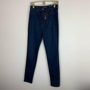 Fashion nova   high waist skinny jean Size 13 NWT